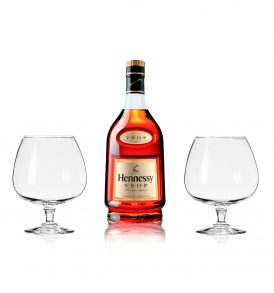 Set Hennessy VSOP y 2 Copas