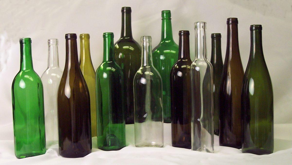 ¿Qué hacer con las botellas de vino?