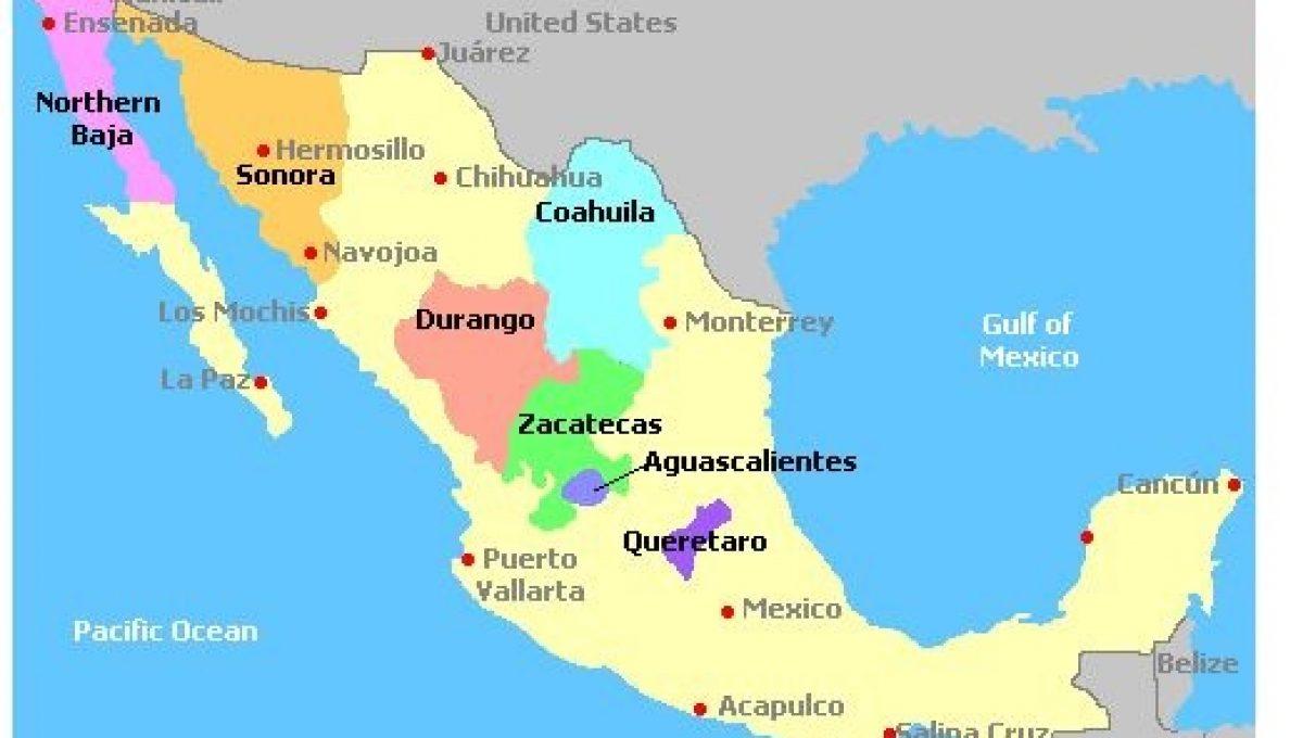 Regiones vinícolas de México