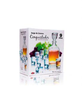 Set Tequila Azul Centenario con Licorera