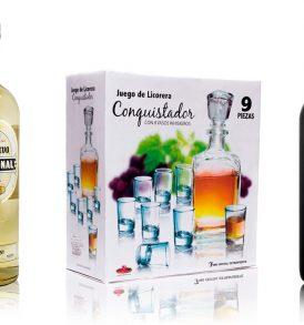 Set Tequila José Cuervo y Vino Vihucas