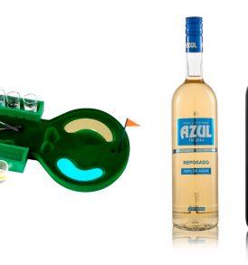 Set Tequila Azul Centenario con Juego de mini golf