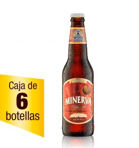 Cerveza Minerva Pale Ale caja 6 botellas 355 ml