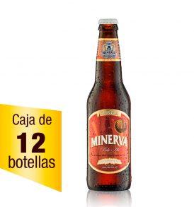 Cerveza Minerva Pale Ale caja 12 botellas 355 ml