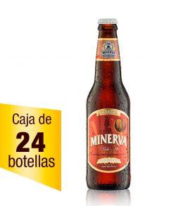 Cerveza Minerva Pale Ale caja 24 botellas 355 ml