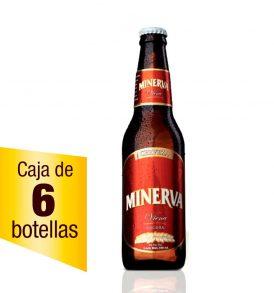 Cerveza Minerva Viena Caja 6 botellas 355 ml