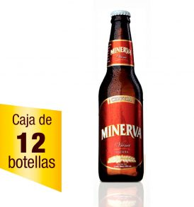 Cerveza Minerva Viena Caja de 12 piezas 355 ml