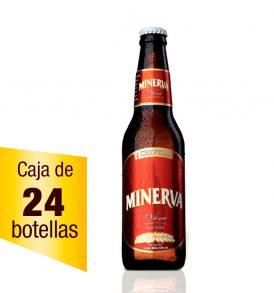 Cerveza Minerva Viena Caja de 24 piezas 355 ml