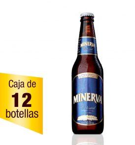 Cerveza Minerva Colonial caja 12 botellas 355 ml
