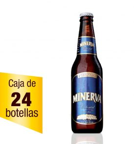 Cerveza Minerva Colonial Caja 24 botellas 355 ml