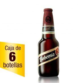 Cerveza Bohemia Oscura Caja 6 botellas 355ml