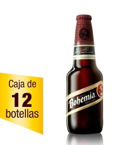 Cerveza Bohemia Oscura Caja 12 botellas 355ml
