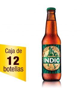 Cerveza Indio Caja 12 botellas 355 ml
