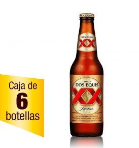 Cerveza XX Ámbar Caja 6 botellas 355ml