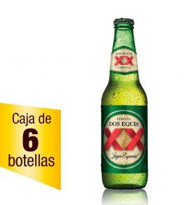 Cerveza XX Lager caja 6 botellas 355ml