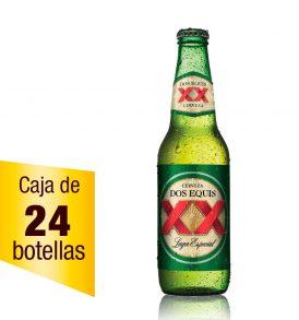 Cerveza XX Lager caja 24 botellas 355ml