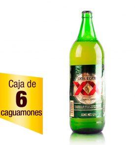 Cerveza XX Lager caja 6 botellas 1.18L caguamón