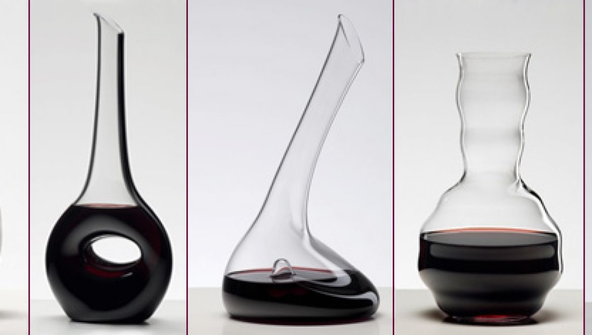 ¿Qué tan útil es un decantador para vino?