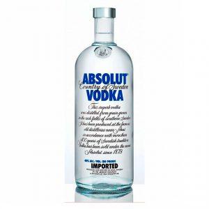 Absolut Vodka (Caja de 3 piezas de 750ml)