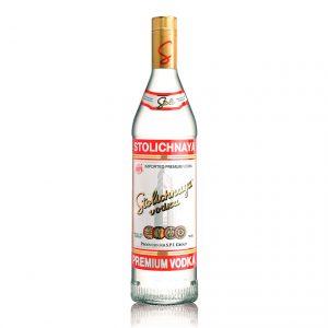 Vodka Stolichnaya (Caja con 3 piezas de 750ml)