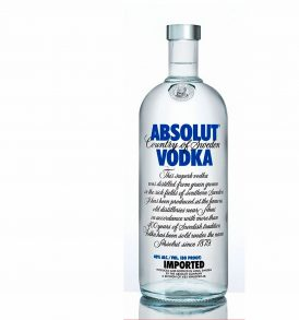 Absolut Vodka Azul 1000ml