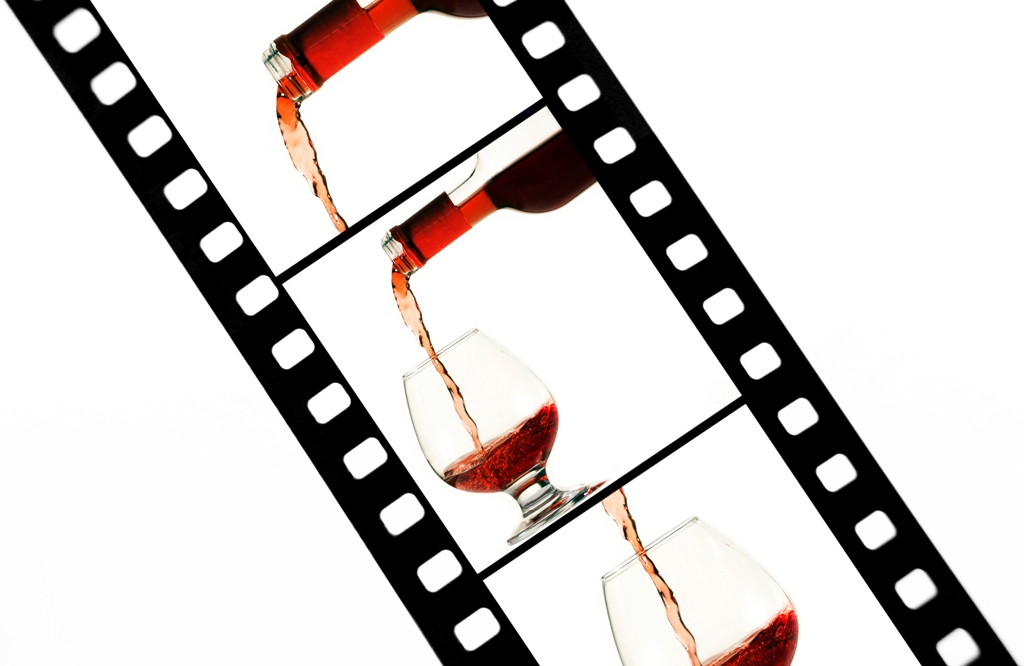 El vino y las películas