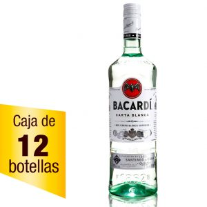 Ron Bacardí Blanco caja 12 botellas 980ml