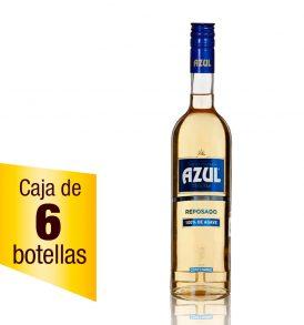 Tequila Centenario Azul caja 6 botellas 700ml