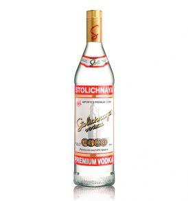 Vodka Stolichnaya (Caja de 6 piezas de 750ml)