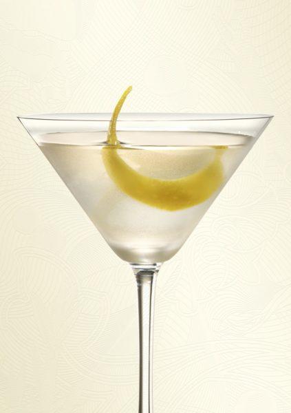 Cocktails y bebidas bombay