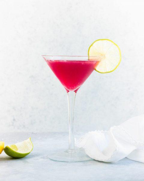 Cocktails y bebidas comspolita