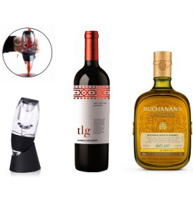 SET VINO WHISKY