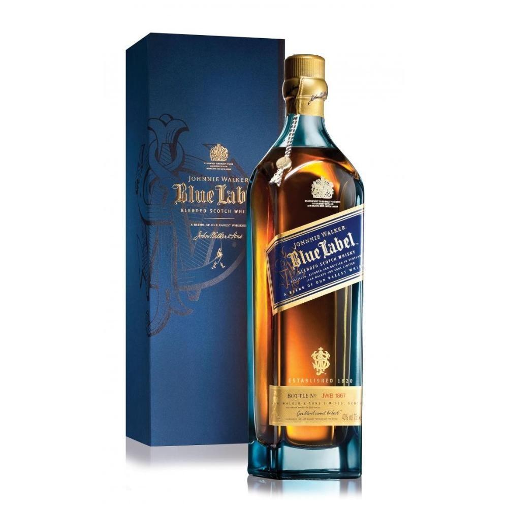 Johnnie Walker Etiqueta Azul (Caja de 6 piezas)